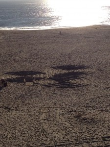 Spirals in the Sand
